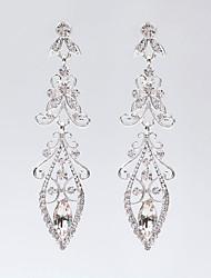 Dråpeøreringer Hypoallergenisk Klassisk Personalisert Sølvplett Sølv Smykker Til Bryllup Fest Spesiell Leilighet Bursdag Engasjement1