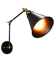 Yy ac220v-240v 4w e27 הוביל אור סוול אור הוביל קיר פמוטים קיר ברזל קיר מנורה אילם שחור lightsaber המנורה על קיר אירופה אירופה ואת ארצות