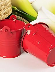 12 Stück / Set Geschenke Halter-Zylinder Metall Geschenkboxen Süßigkeiten Gläser und Flaschen Kuchenverpackung und BoxenNicht