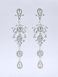 עגילי טיפה מותאם אישית היפואלרגנית קלאסי מצופה כסף כסף תכשיטים ל חתונה Party אירוע מיוחד יום הולדת ארוסים סט1