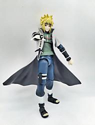 Anime Action Figures Inspired by Naruto Minato Namikaze PVC 14.5 CM Model Toys Doll Toy 1pc