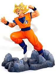 Anime Action Figures Inspired by Dragon Ball Son Goku 13 CM Model Toys Doll Toy