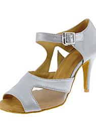 Sapatos de Dança(Claro) -Feminino-Personalizável-Latina
