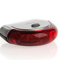 אורות בטיחות מחזירי בטיחות אורות זנב LED רכיבת אופניים אזהרה Lumens סוללה אדום רכיבה על אופניים