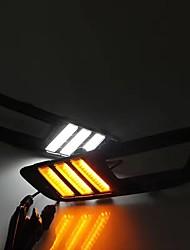 2014-2017 rok pro-d zaostřeno led řada světelných signálů světelných světel bílá / žlutá barvy (souprava lampy vlevo / vpravo)