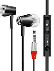 Kosteneffectieve in-ear oortelefoon met microfoon hd geluidskabel bedraad oordopjes 3,5 mm audio muziek headset voice control