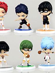 Anime Action Figures Inspired by Kuroko no Basket Midorima Shintaro PVC 7 CM Tetsuya Kuroko Model Toys Doll Toy