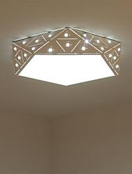 Takplafond ,  Moderne / Nutidig Maleri Trekk for LED Metall Stue Soverom Spisestue Kjøkken Barnerom