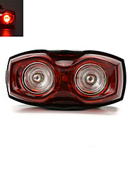 אורות זנב LED LED רכיבת אופניים קל במיוחד AAA Lumens סוללה אדום רכיבה על אופניים חוץ