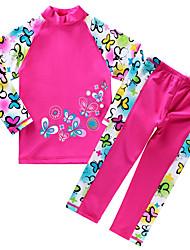 Unisex Floral Floral Swimwear,Polyester Nylon
