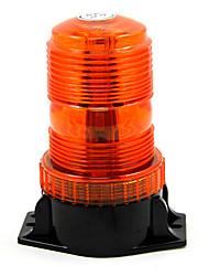 Luz de advertência do estroboscópio único farol de flash âmbar carro universal que denomina o dia ilumina estacionamento luzes conduzidas