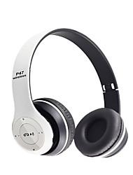 Stereo bas bluetooth hörlurar trådlösa headset bluetooth hörlurar fone de ouvido som für auriculares med mic tf kort för ios / android