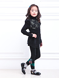Girls' Casual/Daily Color Block Pants-Rayon Summer Spring