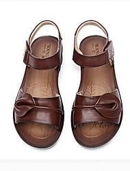 Sandaalit-Kiilakorko-Naiset-Nahka--Rento-Slingback