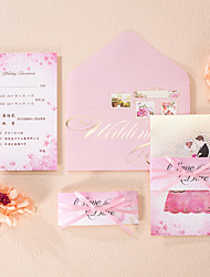 Personalized Wrap & Pocket Wedding InvitationsEnvelope Sticker Save The Date Cards Mother's Day Cards Invitation Cards Thank You Cards
