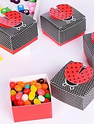 12 Stück / Set Geschenke Halter-Kreativ KartonpapierGeschenkboxen Geschenktaschen Süßigkeiten Gläser und Flaschen Kuchenverpackung und