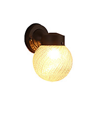 Modern/Contemporary Black Oxide Finish Feature for Mini Style Bulb IncludedAmbient Light Wall Sconces