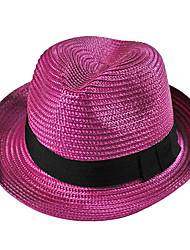 Jazz Hat Bucket HatSummer Straw Hat Cap Folding Soft Sun Hat Casual Foldable Beach Hats For Women