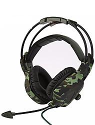 sades의 SA-931 슈퍼 스테레오베이스 위장 헤드폰 홈 오피스 게임 게이머 소음 차단 편안한 헤드셋