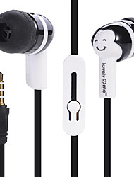 L-11 3.5mm High Fidelity Stereo Headset In-Ear Earphones Android Mobile Phone Headset MP3 Multicolor Sweethearts