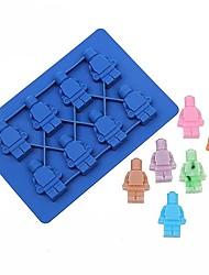 pečicí formy pro Chocolate pro Cookie pro Candy pro Ice Silikon Vysoká kvalita Nepřilnavý Šetrný k životnímu prostředí DIY