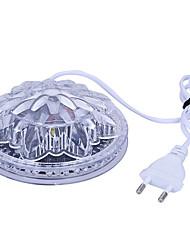 Úžasné ufo přenosné laserové stojací světla 5w rgb 48 leds slunečnice led osvětlení nástěnná lampa pro ktv dj party svatba ac90-240v