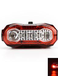 אורות זנב LED LED רכיבת אופניים ניתן לטעינה מחדש קל במיוחד אזהרה USB Lumens USB אדום רכיבה על אופניים חוץ