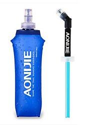 בקבוק מים כחול סטים מחנאות רכיבת אופניים תרמילאים חוץ