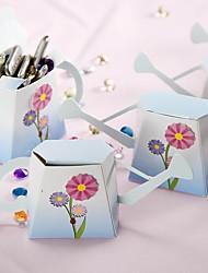 12 Peça/Conjunto Suportes para Lembrancinhas-Cubóide Papel de CartãoCaixas de Ofertas Bolsas de Ofertas Latinhas Lembrança Jarros e