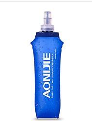 בקבוק מים כחול יחיד מחנאות רכיבת אופניים תרמילאים חוץ