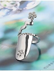 Prsten Euramerican Štras Šperky Pro Svatební Párty Zvláštní příležitosti 1ks
