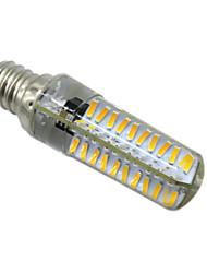 5W E14 E12 E17 BA15D LED Bi-pin světla T 80 SMD 4014 400-500 lm Teplá bílá Chladná bílá Stmívací AC 220-240 V 1 ks
