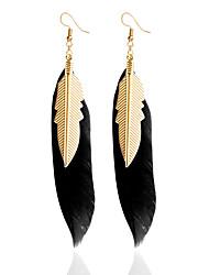 עגילי טיפה עגיל עגילי הגדר תכשיטים עיצוב בייסיק עיצוב מיוחד טבע חברות Turkish סגנון מינימליסטי כריזמות אופנתי עשה-זאת-בעצמך עור תכשיטים