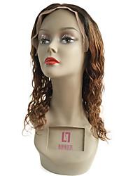 선염 T1b의 / 27 레이스 앞 머리카락은 아기의 머리와 천연 파장 130 % 밀도 페루 버진 헤어 무 접착 레이스 가발 가발