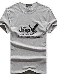 Homens Camiseta Pesca Respirável Secagem Rápida Verão Preto Cinzento