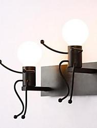 AC 110-130 AC 220-240 40 E26/E27 Rustiikki Maalaus Ominaisuus for LED,Ympäröivä valo Seinälampetit Wall Light