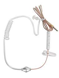 Auriculares / mic del bajo-en-oído de la contra-radiación de la pipa de aire de cwxuan® 3.5mm para el iphone 6 / 5s samsung s4 / 5 htc y