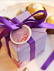12 Stück / Set Geschenke Halter-kubisch Kartonpapier Geschenkboxen Geschenk Schachteln Nicht personalisiert