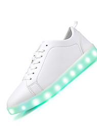Tenisky-Kůže-Light Up boty-Dámské--Běžné-Plochá podrážka