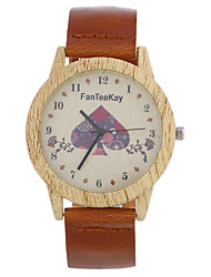 Luxury Brand Wood Watches Men Casual Leather Women Bamboo Wristwatch Relogio Masculino Hombre