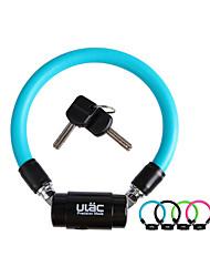Jezdit na kole Bike Zámky Jízda na kole Ultra lehký (UL) Černá Modrá Zelená Fuchsiová PVC zinek
