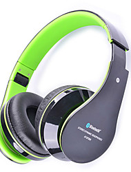 At-bt809 trådløse bluetooth hovedtelefoner øretelefon øretelefoner stereo håndfrit headset med mikrofon til iphone galaxy htc