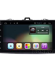 Bonroad android 6 ram2g rom16g 4 1024 * 600 wi-fi nucleare gaoqingbing 4g bluetooth radio guidare record toyota corolla macchina