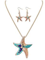 Jewelry Set Jewelry Unique Design Dangling Style Cute Style Euramerican Handmade Stretch Luxury Resin Chrome Geometric