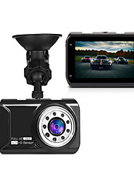 Novatek מקורי 96223 מכונית dvr מצלמה מצלמת מקף פקה 3 אינץ '1080p 170 מעלות זווית רחבה וידאו registrator g- חיישן ראיית לילה