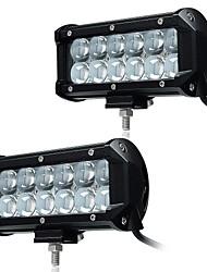 Kawell 2pcs 6.5 36w הוביל עבודה אור בר ספוט קרן 30 מעלות 4d נהיגה אור מים 9-32v עבור הכביש מחוץ לרכב איסוף מכונית suv משאיות ATVs 4x4 4wd