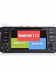 Bonroad Android 7.1.1 Quad Core 1024 600 Car Video DVD Player For E46/M3/MG/ZT/Rover 75/320/318/325 Radio Rds GPS Navigation bluetooth
