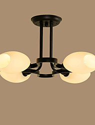 Flush Mount ,  Traditional/Classic Others Feature for LED Metal Living Room Bedroom Dining Room Study Room/Office