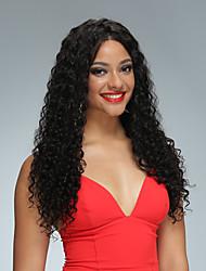 מלא שיער תחרה פאות עבור נשים שחורות מתולתל ברזילאית בתולה שיער אדם עם פאות שיער 8-26inch 100% שיער אדם 130 פאות שיער