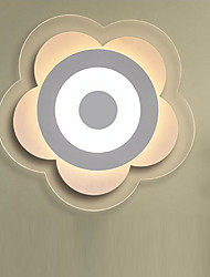 Petals Shape LED Acrylic The Bedroom Light Stepless Dimming Sitting Room Lights Remote Control Diameter 52cm